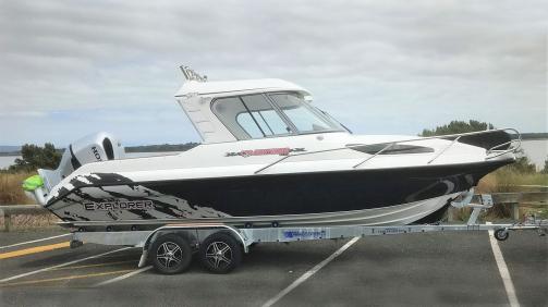 New Boats - Huntsman Explorer Boat